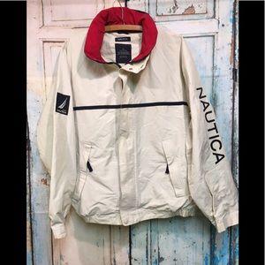 Nautica Sailing NS 5833 Cream Jacket Size M